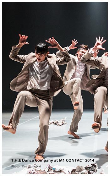 T.H.E Dance Company Triple Bill